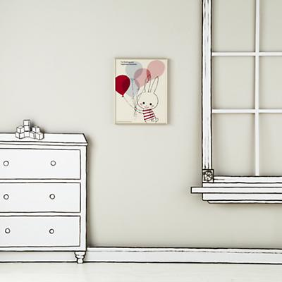 WallArt_FR_Think_Happiness_bunny