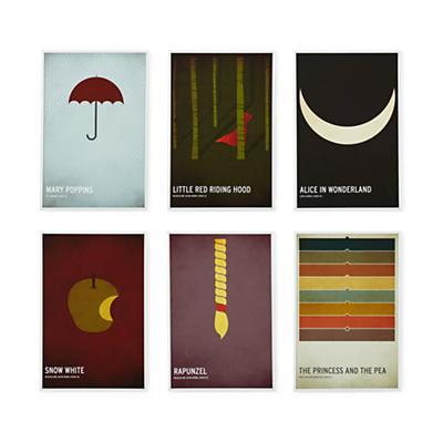 Fairy Tale Prints (Set of 6)