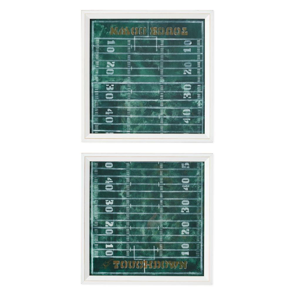 First Down Framed Wall Art (Set of 2)