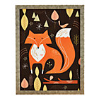 Framed Fox in the Woods Wall Art