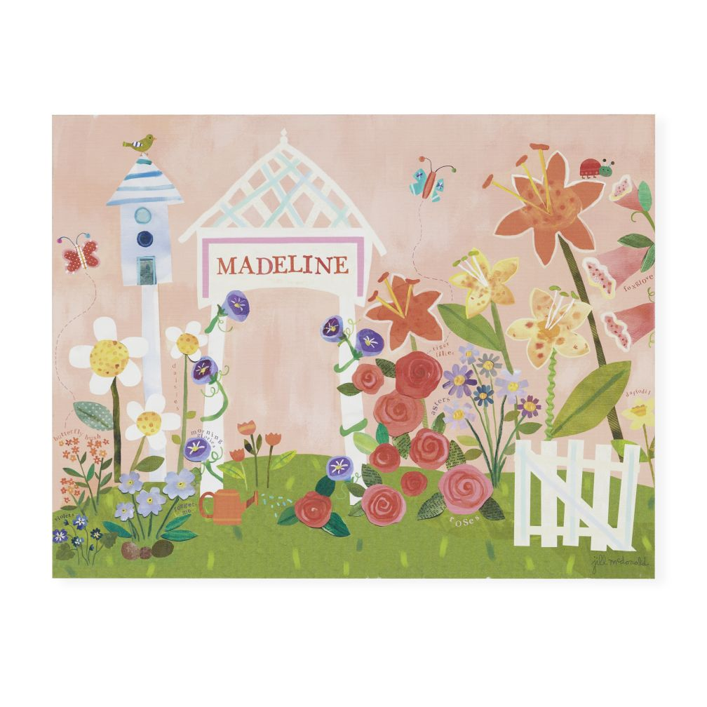 Gardener&#39;s Delight Personalized Wall Art