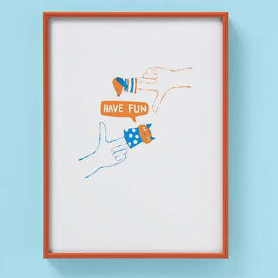 Framed Have Fun Scenes Wall Art