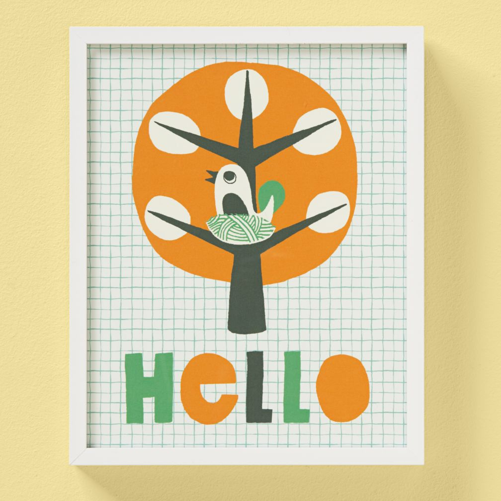 Hi, Hello, And How Do You Do Framed Wall Art