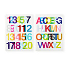 Helvetica Wall Art SetA Savings of $20