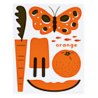 Orange Hues You Can Use Wall Art