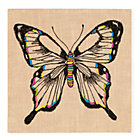Butterfly Exotic Embroideries Wall Art