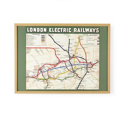 London Railway Wall Art