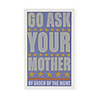 Framed Ask Your Mother Wall Art