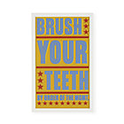 Brush Your Teeth Wall Art