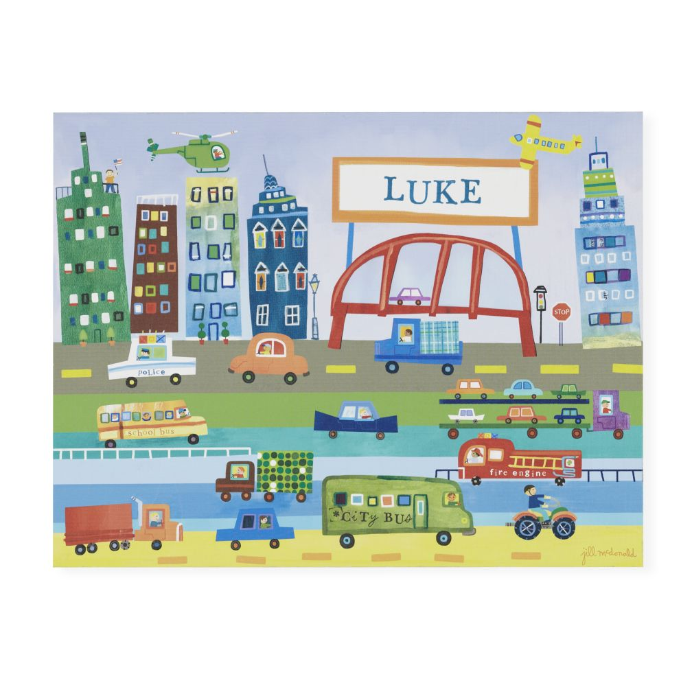 Moving Personalized Wall Art