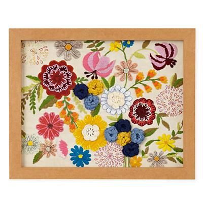 Natural History Framed Wall Art (Flowers)