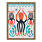 Framed Octopus Garden Wall Art