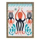 Tracy Walker Animal Wall Art (Octopus)