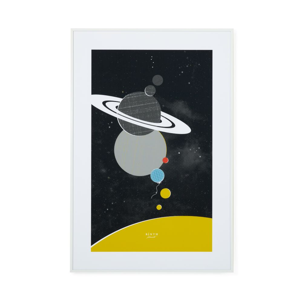 Planets Framed Wall Art