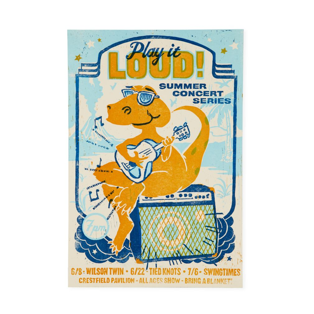 Play It Loud Concert Poster