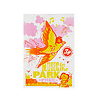 Pink/Orange Music in the Park Concert Poster