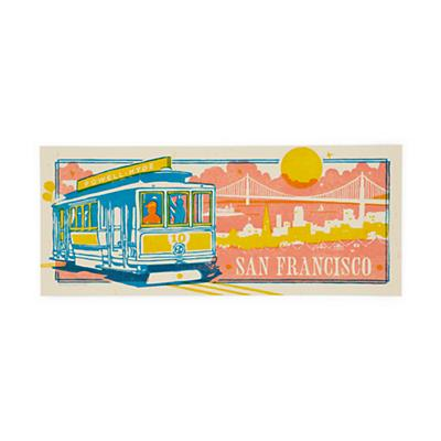 San Francisco City Poster