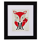 Framed Fox Instinct Wall Art