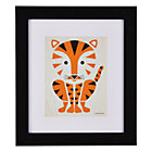 Framed Tiger Instinct Wall Art
