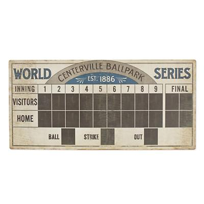 Root for the Home Team Scoreboard Wall Art