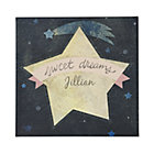 Pink Sweet Dreams Personalized Wall Art