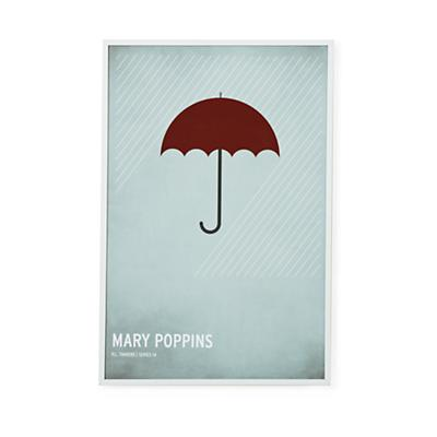Fairy Tale Framed Poster (Mary Poppins)