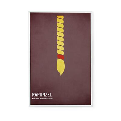Fairy Tale Framed Poster (Rapunzel)