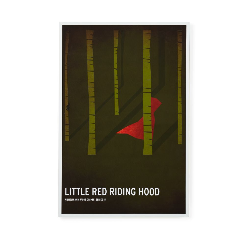 Fairy Tale Framed Poster (Little Red Riding Hood)