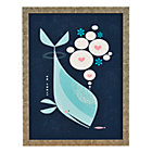 Framed Whale Friends Wall Art