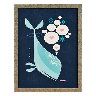 Tracy Walker Animal Wall Art (Whale)