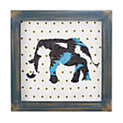 Elephant Wild Pattern Framed Wall Art