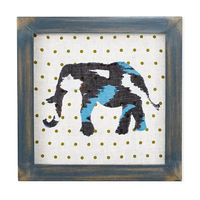 Wild Pattern Wall Art (Elephant)