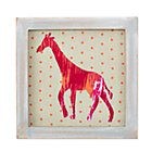 Giraffe Wild Pattern Framed Wall Art
