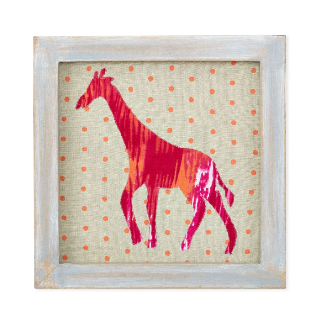 Wild Pattern Wall Art (Giraffe)