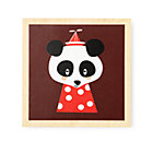Panda Wooden Framed Wall Art