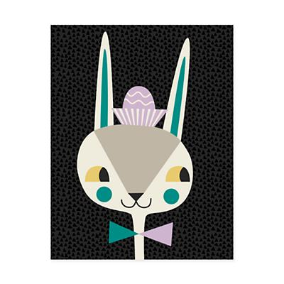 Animal Bebop Wall Art (Bunny)