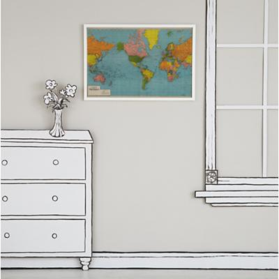 WallArt_World_Map