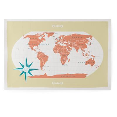 What a Wonderful World Wall Map (Natural)