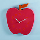 Sweet Time Apple Wall Clock