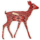Pink/Purple Deer Wall Hook