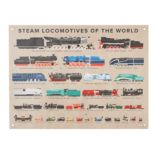 Steam Locomotive Banner