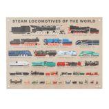 Steam Locomotive Banner