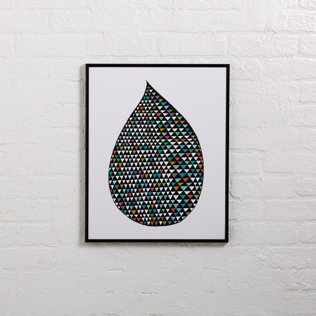 Rain Drop Wall Art