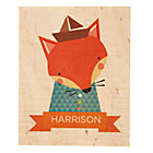 Personalized Young & Wild Fox Wall Art