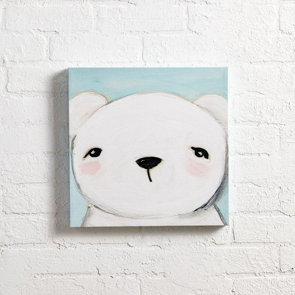 Hello Bear Wall Art