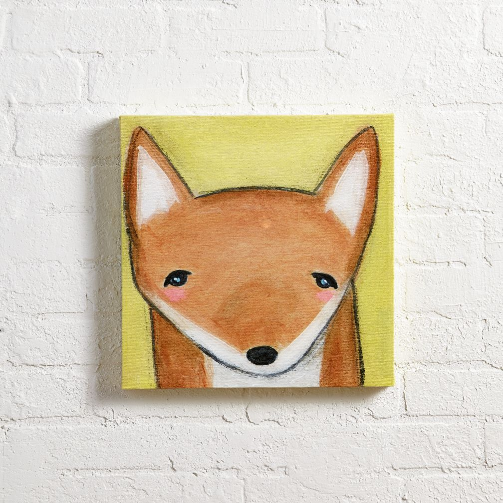 Hello Fox Wall Art