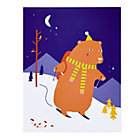Downhill Bear Unframed Nod Institute of Art Print