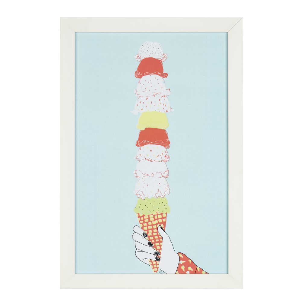 Ice Cream Wall Art