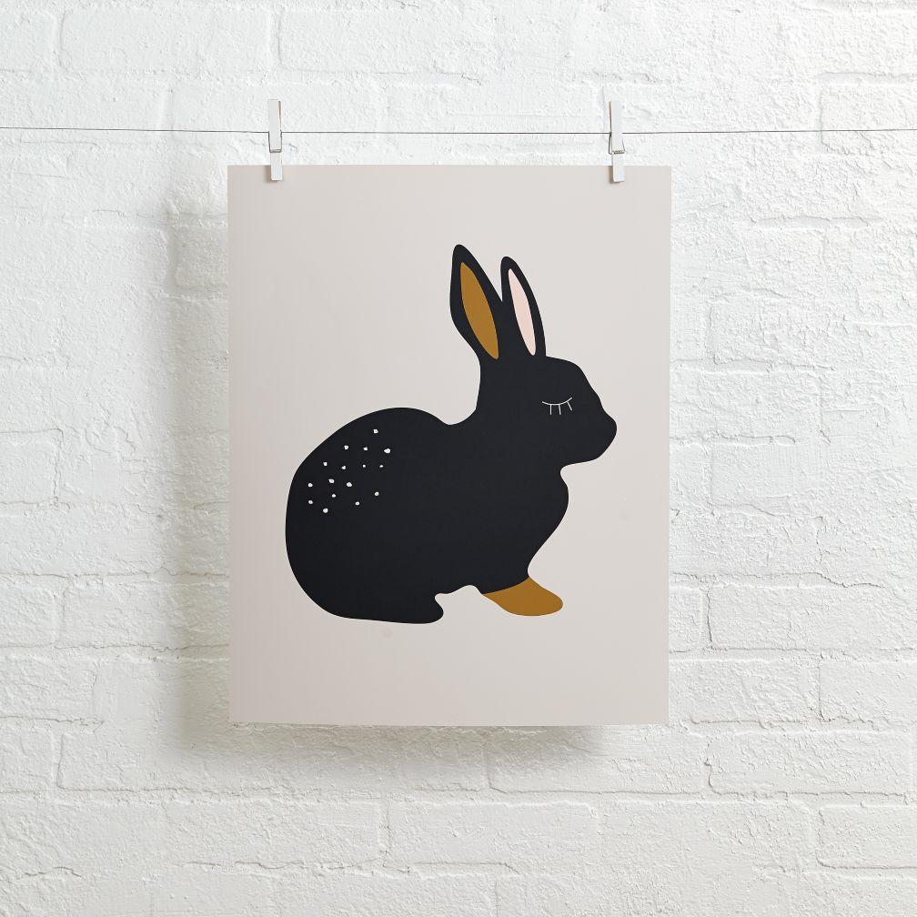 Alphonnsine Wall Art (Bunny)