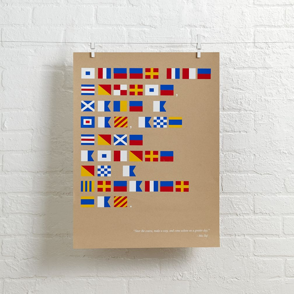 Nautical Flag Wall Art